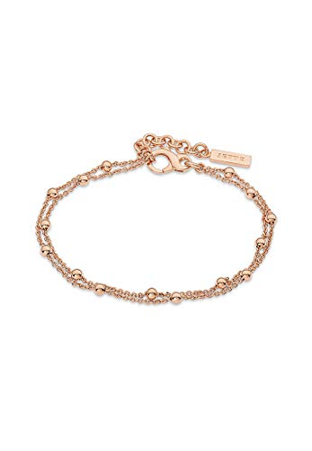 JETTE Silver Damen-Armband Lucky Charm 925er Silber One Size Roségold 32010380