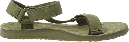 Teva Herren Original Universal Leather Mens Sandalen, Grün (Burnt Olive Btol), 44.5 EU