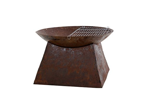 Review Redfire 88018 70Cm Rust Loki Outdoor Fireplaces, Rust