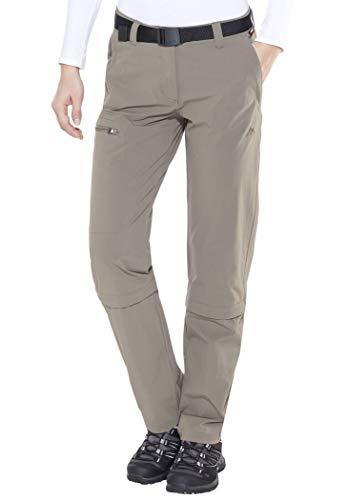 Maier Sports Arolla - Pantalon Zip Femme - Collants Longs Marron Modèle 44 2014