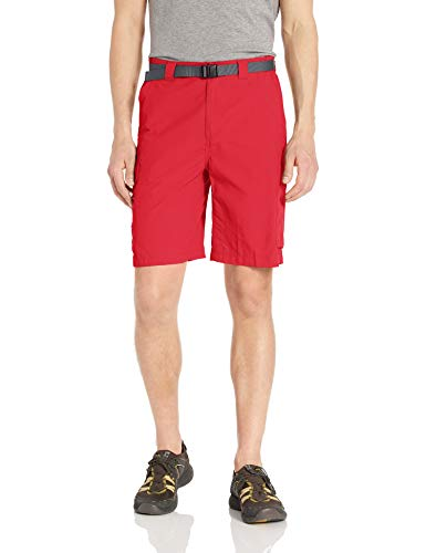 Columbia Silver Ridge Cargo Short Respirant UPF 50 Protection Solaire Silver Ridge Cargo Short Respirant UPF 50 Protection Solaire, Homme, 144170, Rouge Sunset, 34x10