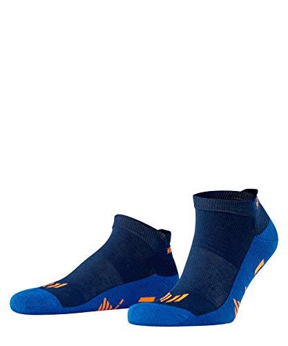 Burlington Running, Calzini da corsa Unisex - Adulto, Antivesciche Con Rinforzo, Blu (Marine 6120), 40-46, 1 Paio