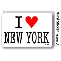 IL-026 I love NEW YORK アイラブステッカー