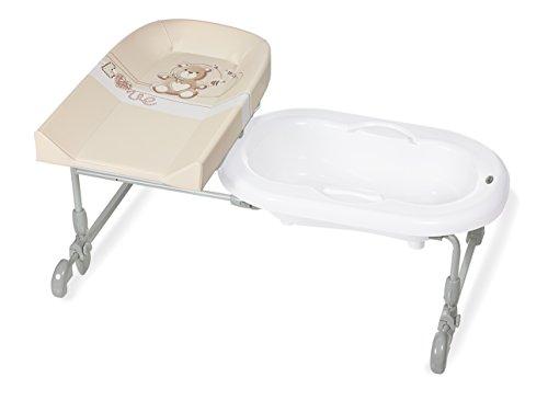 Brevi Bagnotime reversibile Beige bañera para bebés
