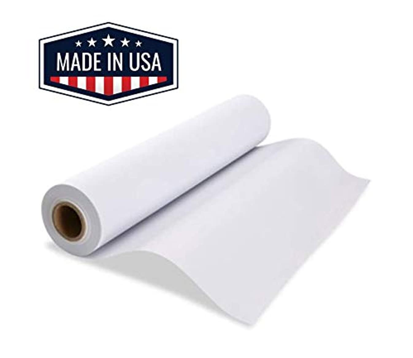 Made in USA White Butcher Paper Roll 17.75