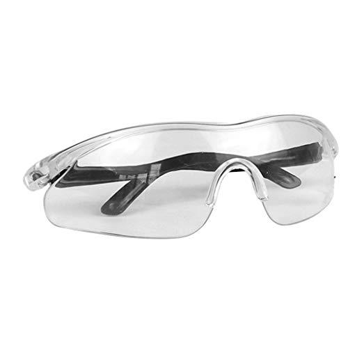 BASSK Gafas De Seguridad Gafas Transparentes Resistente a Salpicaduras Químicas Resistente Al Impacto Completamente Cerrado