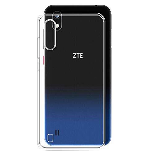 TBOC Transparent Gel TPU Hülle für ZTE Blade A7 - ZTE Blade A7 2019 [6.09 Zoll] Superdünn Flexibel Silikon Gehäuse für Handy