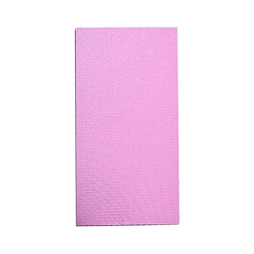 Vecksoy Esterilla de yoga multifunción, antideslizante, para pilates calientes, elástica, portátil, ideal para pilates, yoga y muchos otros entrenamientos en casa