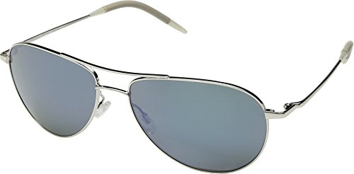 Oliver Peoples Benedict Silver/Blue Diamond Mirror One Size