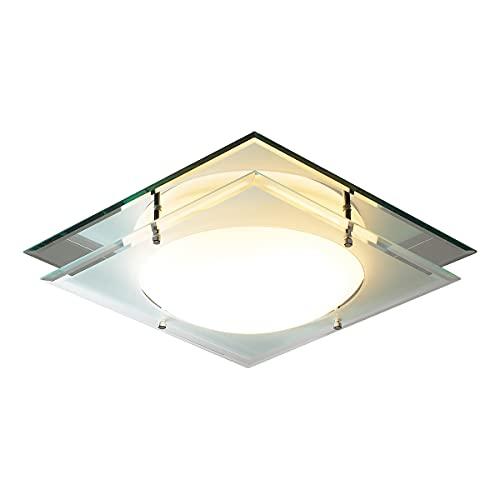 DAR MANTRA - Lámpara de techo empotrada con espejo IP44