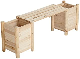 Best cedar bench with side planters Reviews