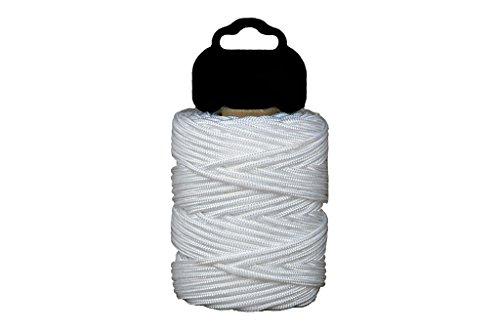 Cofan 08101011 Riel trenzado en polipropileno, Blanco, 3 mm