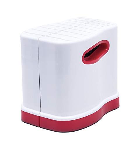 伸縮式洋式トイレ用足置き台 踏ん張り 和式スタイル お通じ サポート コンパクト 姿勢