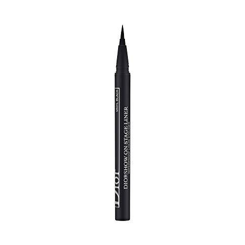 Christian Dior Diorshow On Stage Liquid Eyeliner 096 Vinyl Black for Women, 0.01 Ounce