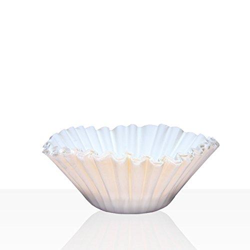 Korbfilter für Bonamat, Bartscher, Animo, Melitta 85/245 mm, 250 Stk weiß, Kaffeefilter