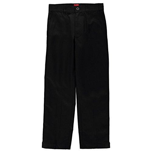 Slazenger Jungen Golf Hose Taschen Unifarben Schwarz 11-12 Jahre
