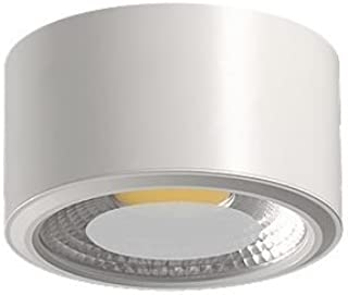 Acb Daviú - Plafón de techo superficie 1 Luz Led 10 Watios 3200K. Color Blanco