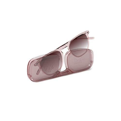Nooz Gafas de sol polarizadas para hombre y mujer - Protección de categoría 3 - Color Cuarzo - con estuche compacto - Colección DINO