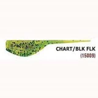 Reel Draggin' Tackle - Leland Slab Magnet 1.5' 8ct Chartreuse Black Flake