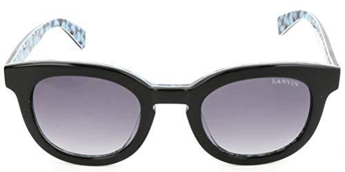 Lavin Lanvin Sonnenbrille SLN722V 0APA 47 24 140 Schmetterling Sonnenbrille 47, Schwarz