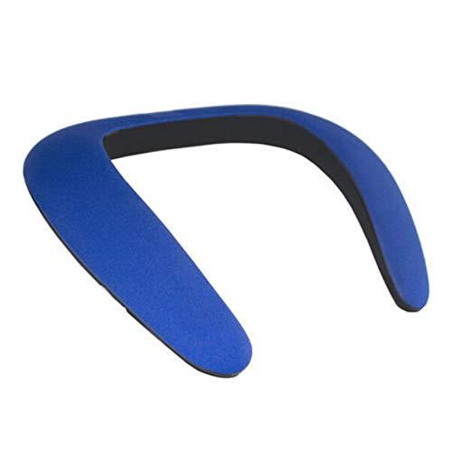 OPAKY Bluetooth Wireless Halsbandhalslautsprecher FM AUX SD USB Stereo für iPhone, Samsung usw.
