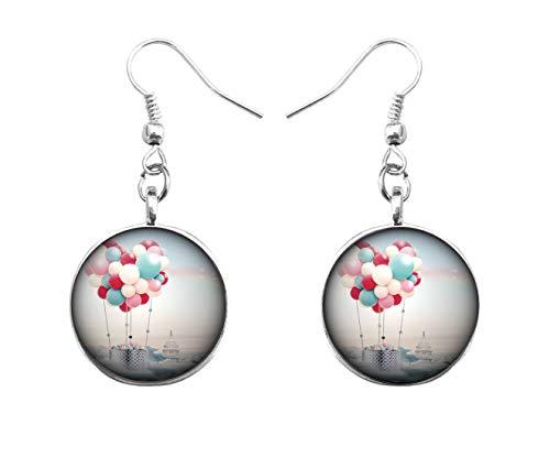 Xubu Boheemse Sieraden, Kleurrijke Ballon Dangles, in de hemel Mooie Dangles
