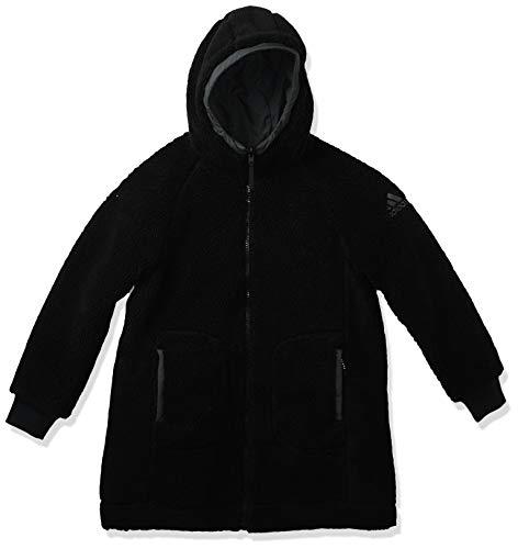 adidas Reversible Sherpa Insulated Jacket Chaqueta, Negro/Gris, XS para Mujer