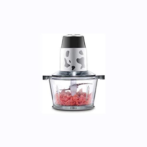 Vidrio máquina de Picar carne-300W Mini Chopper - Procesador de Alimentos eléctrico, Cortador de Verduras, Dicer, Chop, Mezcla, Mezcla, puré, Cuchillas de Acero Inoxidable YCLIN