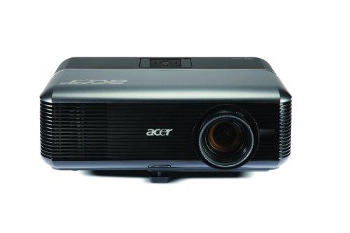 Acer P5390W DLP-Projektor (Kontrast 2000:1, 4000 ANSI Lumen, WXGA 1280 x 800 Pixel) schwarz