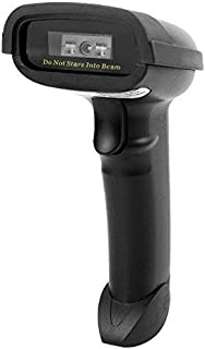 JUNWER Bluetooth Barcode Scanner Supports Windows, Android, iOS, Mac OS and Works with iPad, iPhone, Android Phones, Tablets or Computers (2 in 1 Bluetooth Wireless + USB 2.0 Wired)