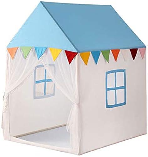 Kinderzelt Kinderzelt Princess Zimmer Spielhaus Schloss Indoor Kinder Pop-Up Zelt Home Jungen Und mädchen Spielhaus Senden Matten Geschenke Für Kinder Spielzelte