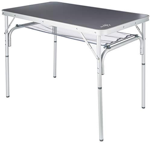 Bo-Camp campingtafel, 100 x 60 cm, aluminium