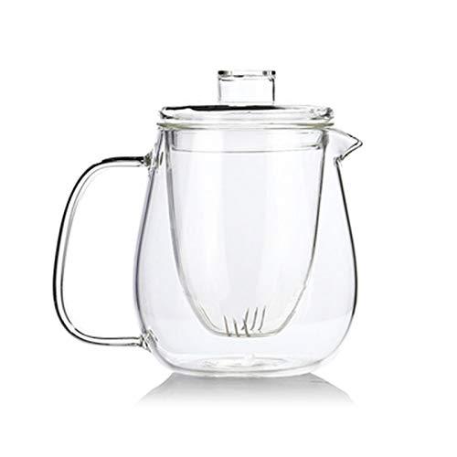 Roovtap Hitzebeständige Glas Tee Set Blume Teekanne Kaffeekanne Pinguin vertikale Teekanne