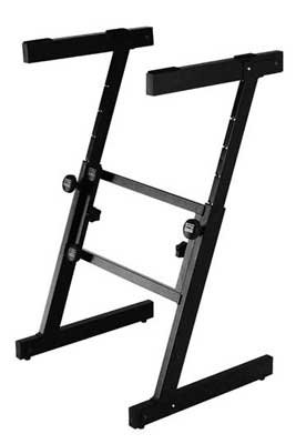 On-Stage KS7350 Pro Heavy-Duty Folding-Z Keyboard Stand