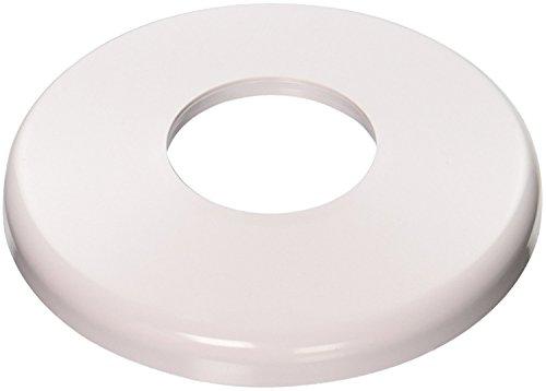 Hayward SP1041100 Rosettenplatte aus ABS-Kunststoff, rund, für 3,8 cm Rohre, Weiß, 100 Stück