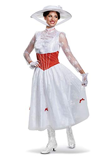 Deluxe Women's Mary Poppins Costume Large
