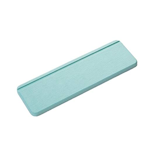 LYZ Kieselalge Schlamm Absorbent Pad Rutschhemmende Kieselalge Schlamm Waschtisch Bad Dusche Mat wasserdichte elektrische Zahnbürste, Seife Washroom Pad (Color : G)