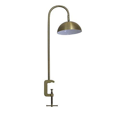 Lámpara con clip dorado Júpiter