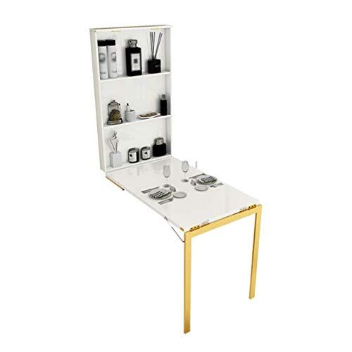 SYLTL Wandtisch Kleine Wohnung Wandmontage, rechteckig ausklappbarer Cabrio-Tisch Multifunktions-Esstisch mit...