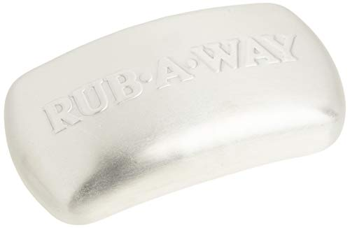 AMCO 8402 Rub-a-Way Bar Stainless Steel Odor Absorber, Single, Silver
