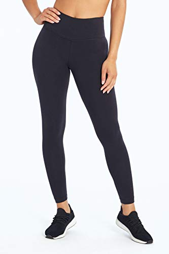 Bally Total Fitness Women's High Rise Tummy Control Legging, Black, Medium FLL0058A