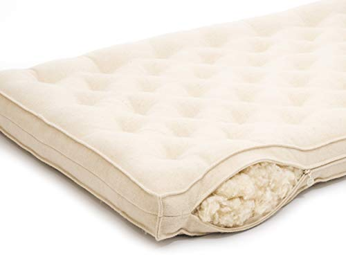 Purchase Home of Wool Crib Mattress for Baby and Toddler/Oeko-Tex Certified Filling & Materials/Any ...