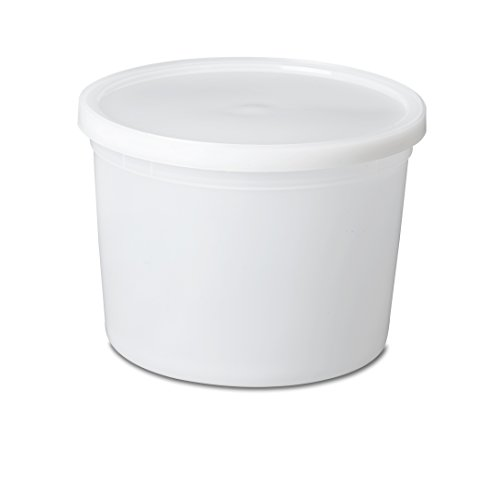 64oz Durable Plastic Storage Containers (10 pack) Suitable for Food, Office or Hardware