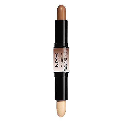 NYX Professional Makeup , Doppelseitig, Highlighter and Konturenstift, Cremige Textur, Farbton: Universal