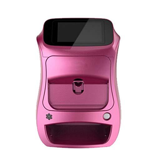 LUCKYAN Impresora Inteligente de uñas 3D Máquina de Pintura Uñas Portátil Automática Rápido Uña Pintura Máquina Pantalla táctil de 5 Pulgadas Móvil de Control inalámbrico WiFi
