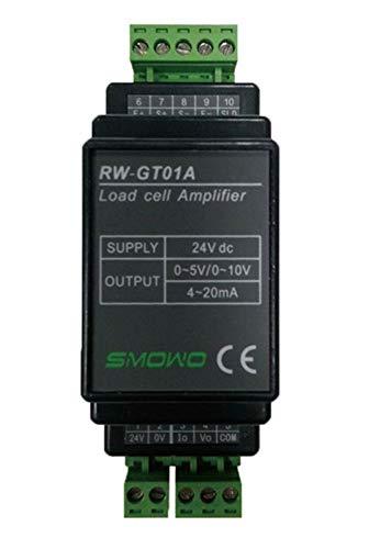 L.HPT RW-GT01A Trasmettitore del trasmettitore amplificatore sensore cella di carico montabile su Guida DIN (uscita segnale: 4-20 mA)