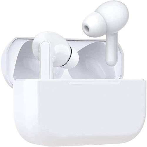 Auriculares Inalámbricos, Auriculares Bluetooth 5.0,Auriculares Reducción de Ruido Estéreo,IPX5 Impermeable In-Ear Cascos Auricular Inalámbrico con Microfono para iPhone Android Samsung