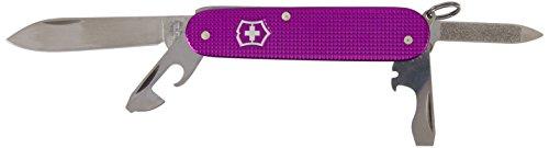 Victorinox Erwachsene Cadet, Alox Limited Edition 2016 Taschenwerkzeug, Orchideen-Violett, 84 mm