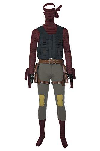 Academia Heroes: Rising Villain Ninja Mummy Traje de Cosplay Disfraz Mujeres Damas L