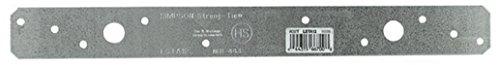 Simpson LSTA12 - Lote de 75 corbatas resistentes para corbata de luz de 3,81 cm x 30,48 cm
